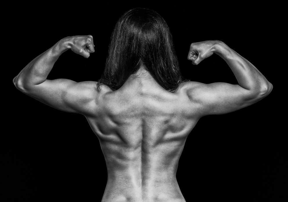The rear double bicep - consistently a winning pose