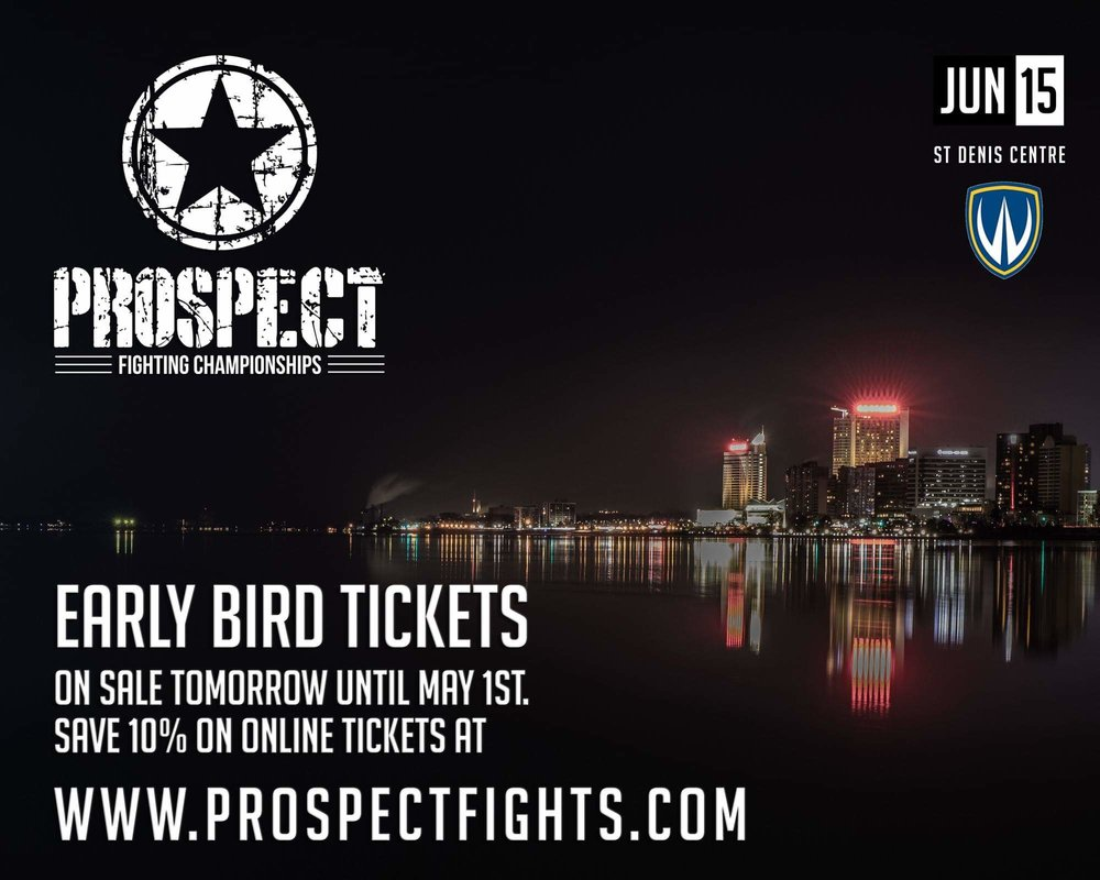 Early Bird Ticket Sales