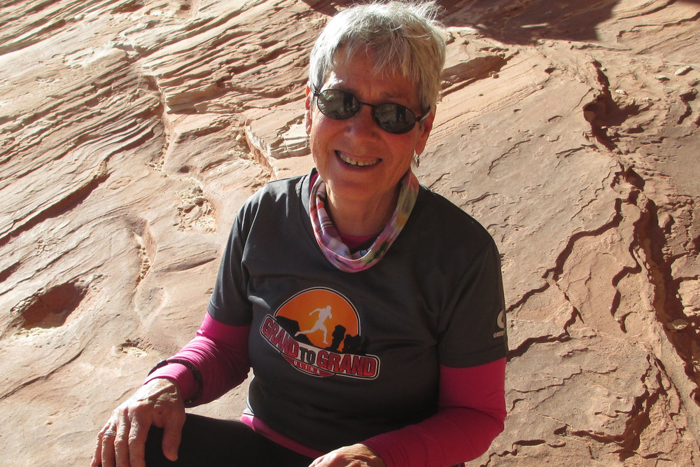 After being out in the field with the runners for 7 days, moving camp every day, my clothes smelled really bad!  -JoAnne Rando-Moon   Kanab, UT