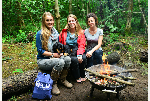 Rebecca Cork, Jackie Roby and Emma Coates of Go Wild