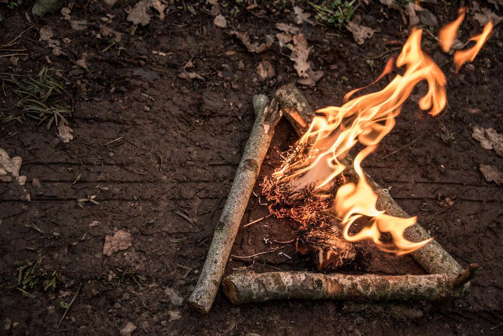 Level 3 forest school training firelighting fire triangle.jpg