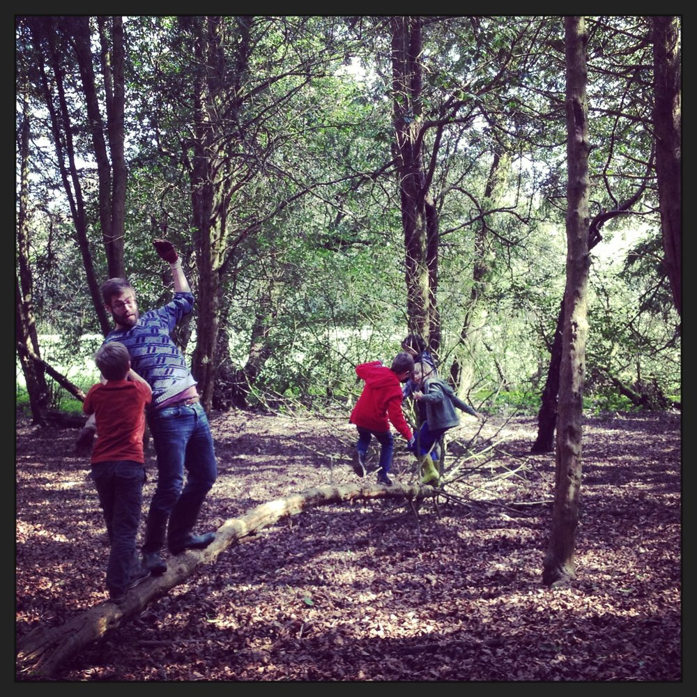 Go Wild Forest School balancing.JPG