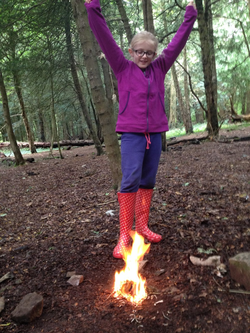 Go Wild Forest School hooray fire.JPG