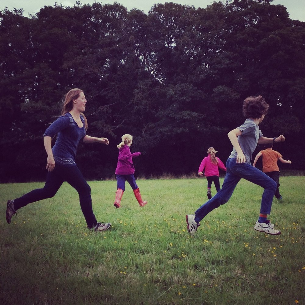 Go Wild Forest School running.JPG