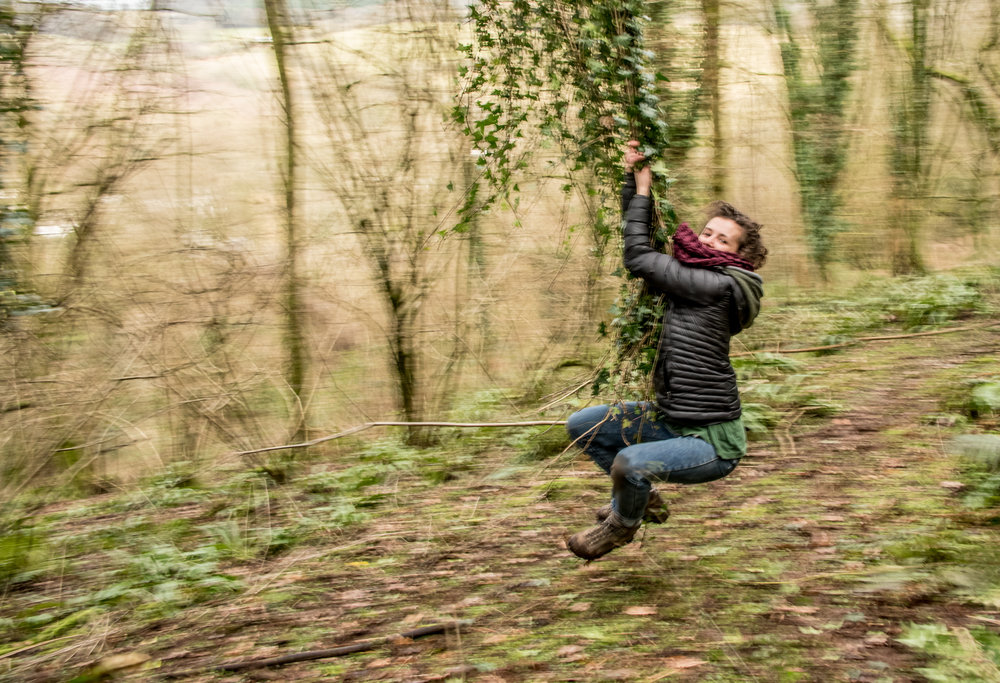 Go Wild Forest School Level 3 Training ivy swing.jpg