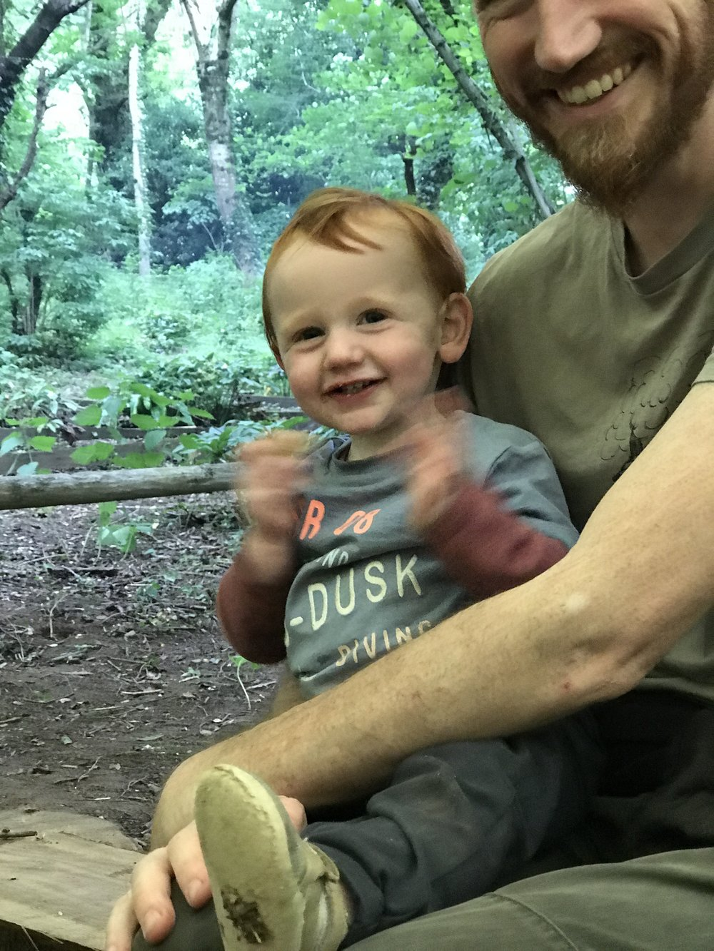 Go Wild Forest School Training Toddlers 3
