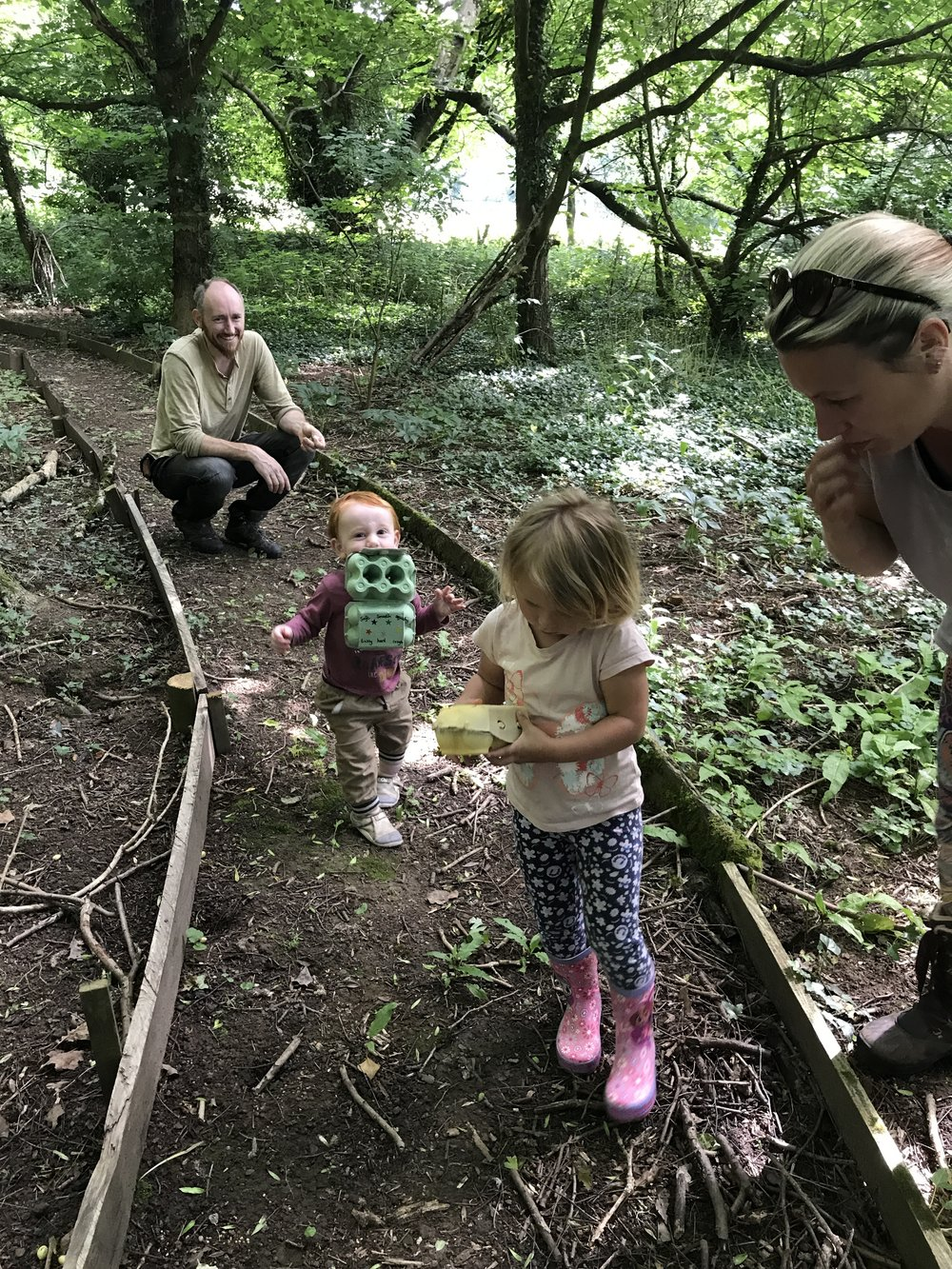 go wild forest school training bristol