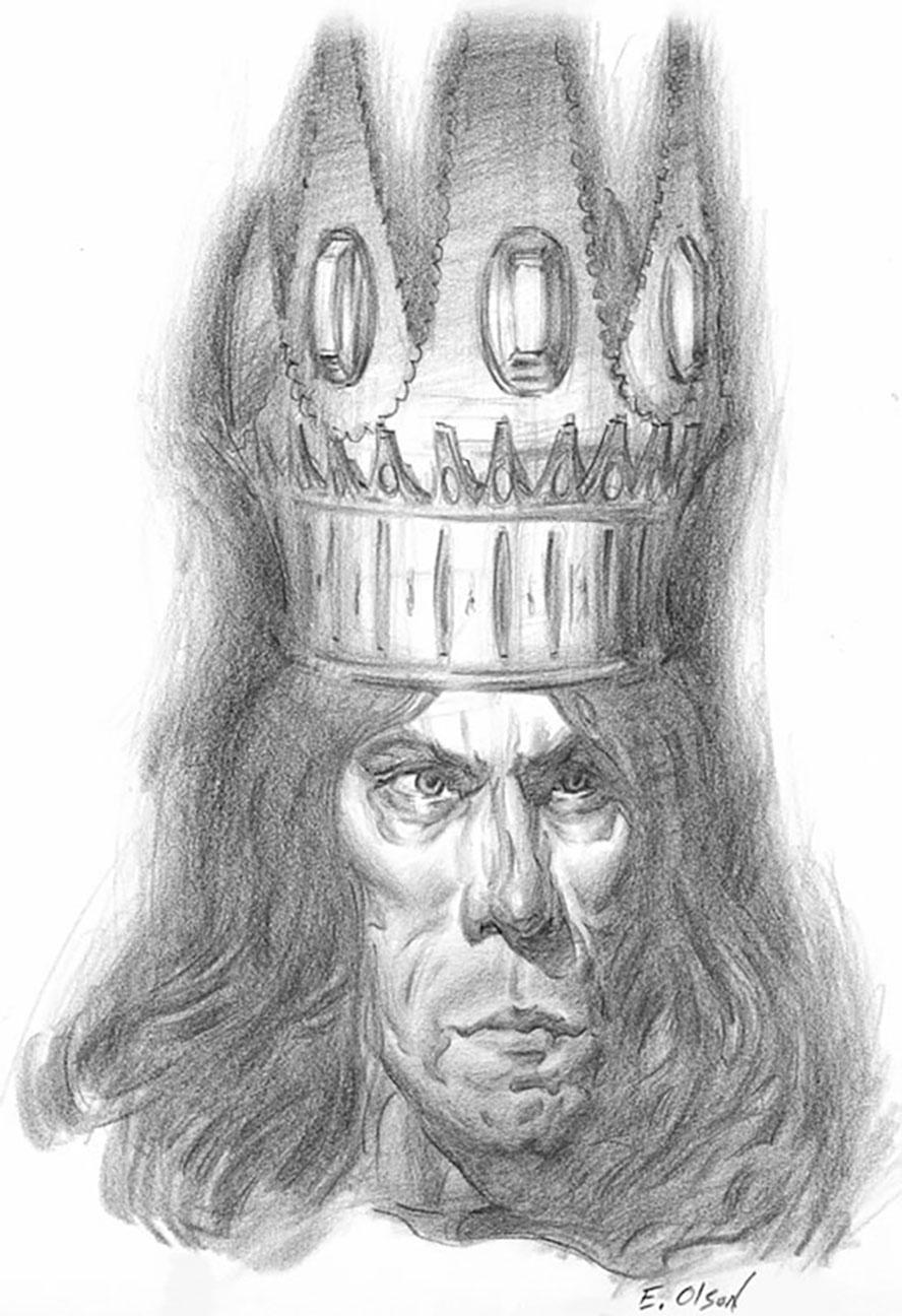 Olson Morgoth Head Drawing.JPG