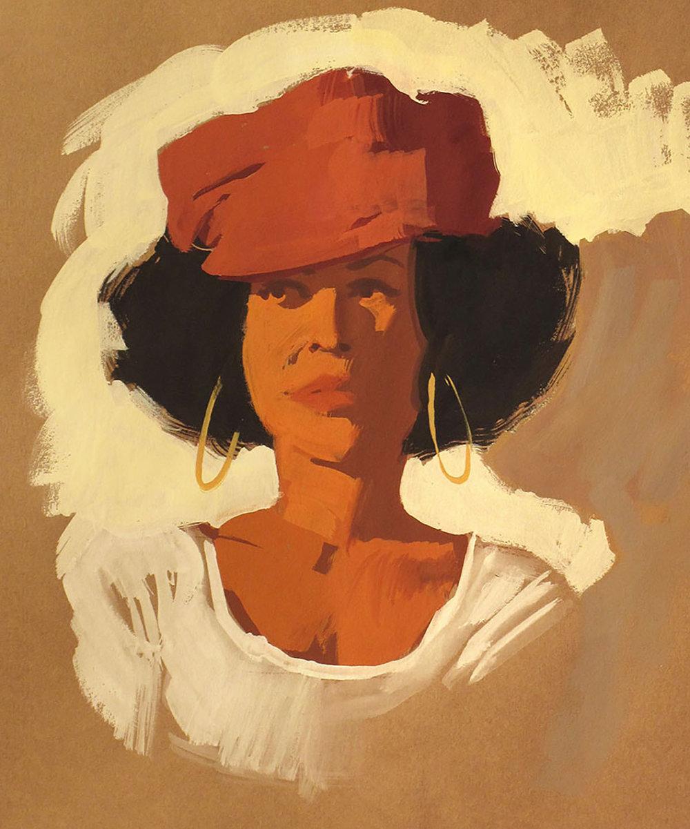 Shana with Hat