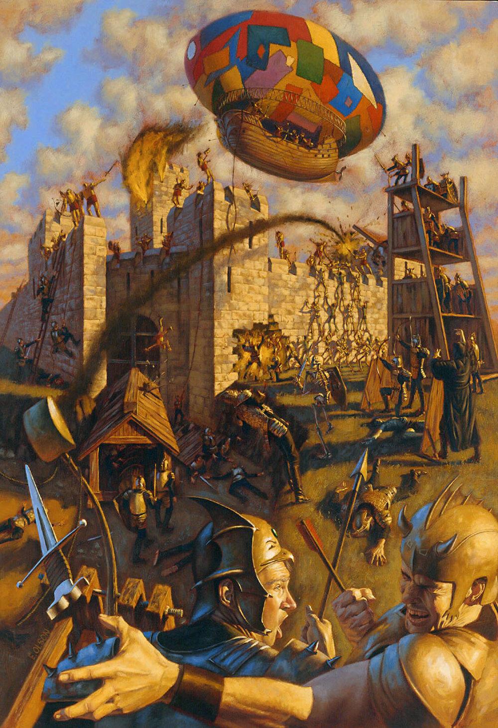 Battle Scene for Strongholds