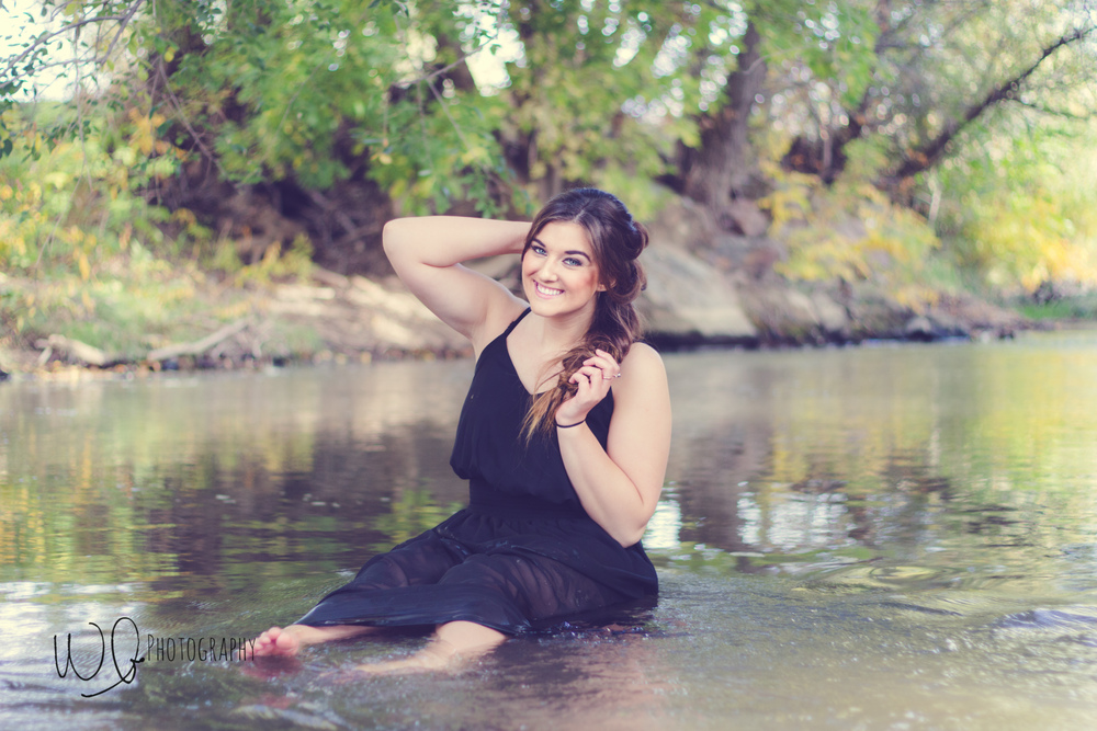 Senior pictures, Spanish Fork River