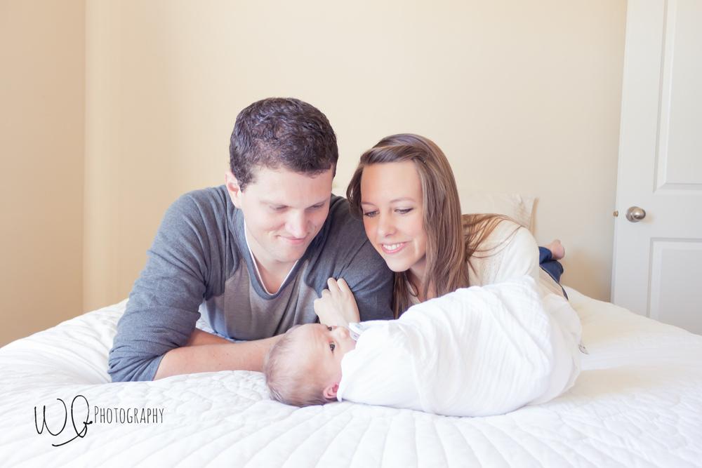 Lifestyle newborn pictures, Utah County