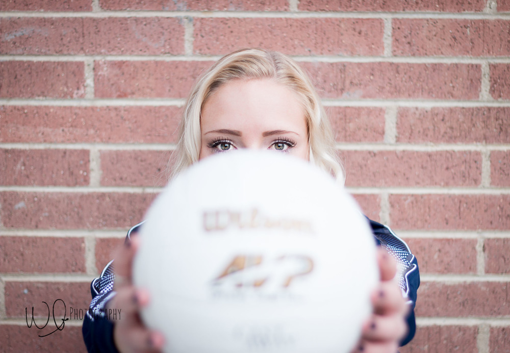Volleyball senior pictures