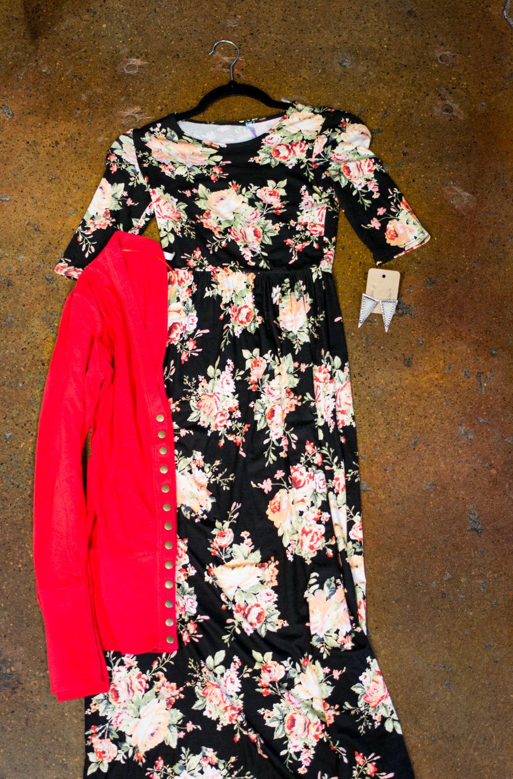 Summer dress. Big Bratt Boutique, Spanish Fork Utah