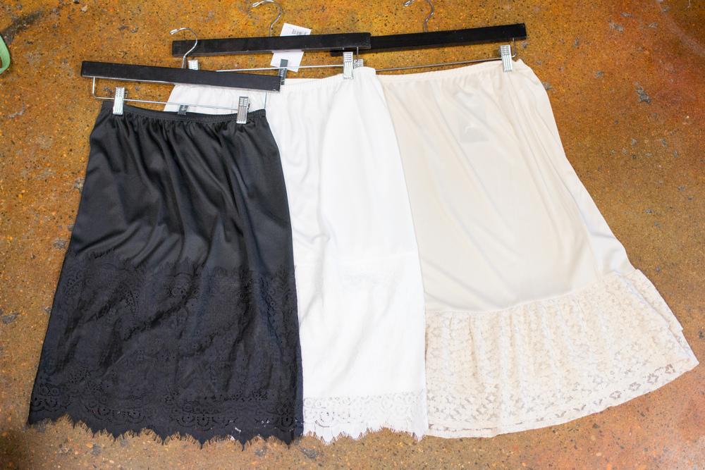 Skirt extenders. Big Bratt Boutique, Spanish Fork Utah