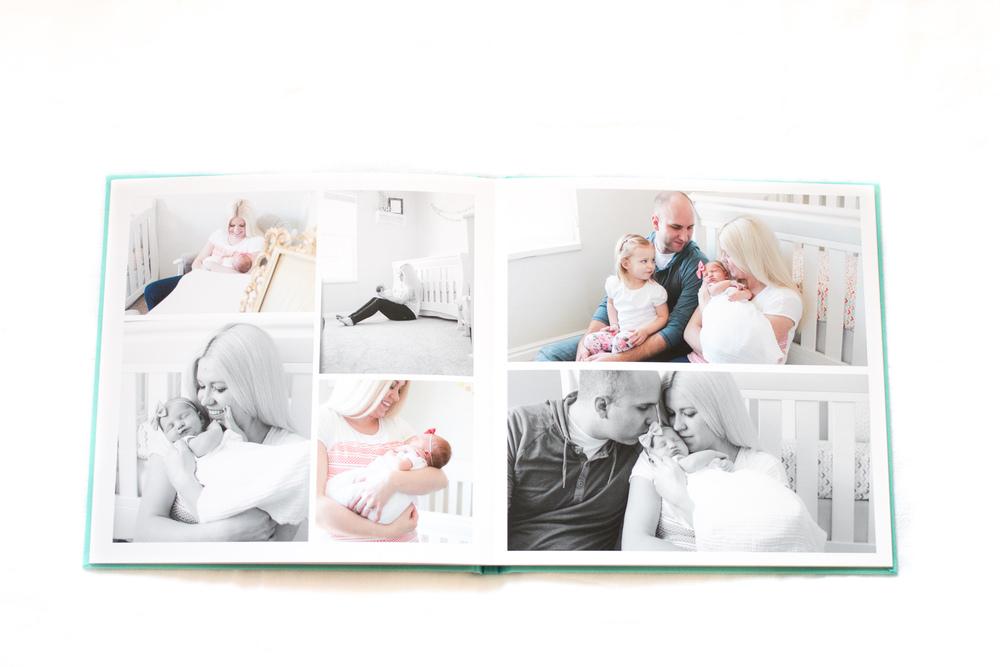Signature photo book , Whitney Bufton Photography products