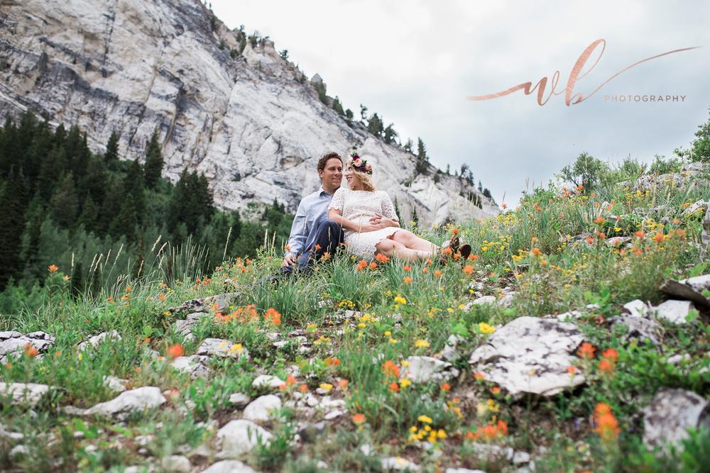 wild flower engagements