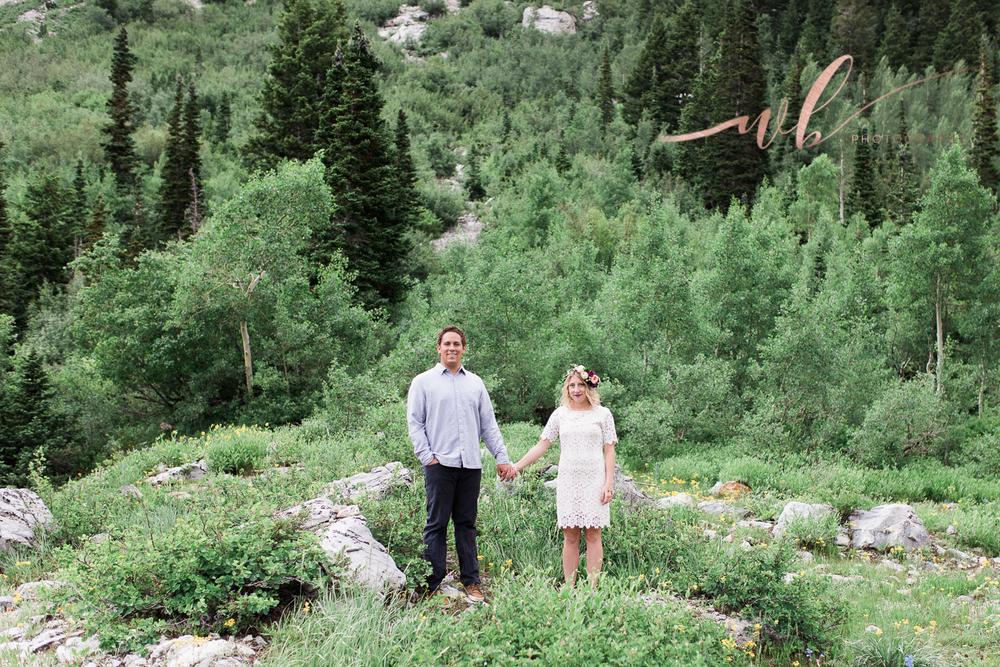 pine tree engagements