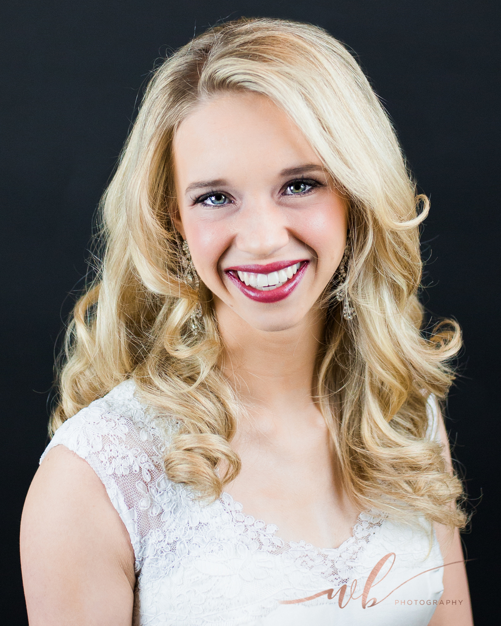 pageant head shot