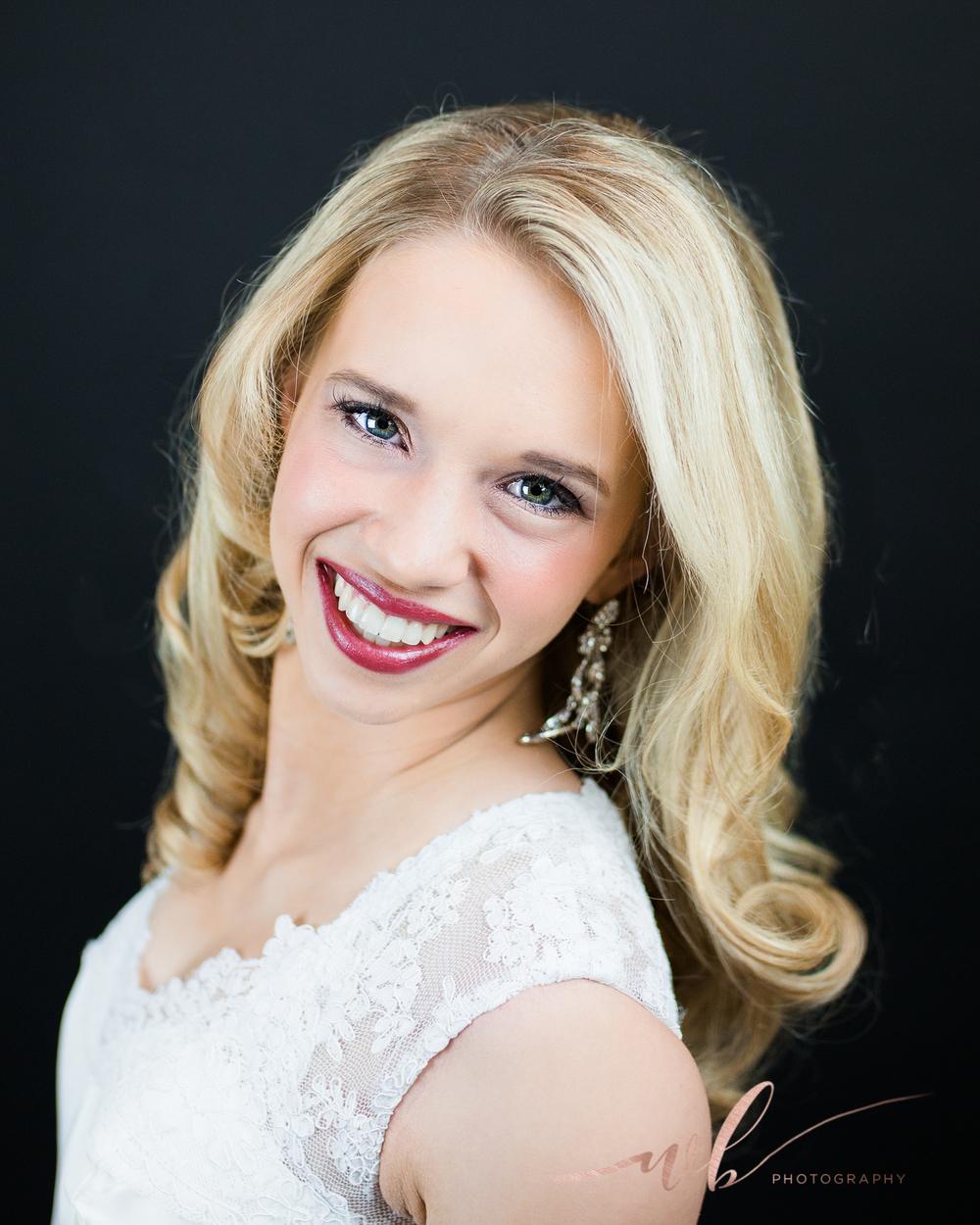 Utah pageant head shots