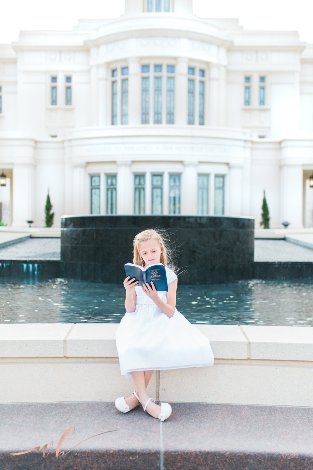 Utah LDS baptism photographer