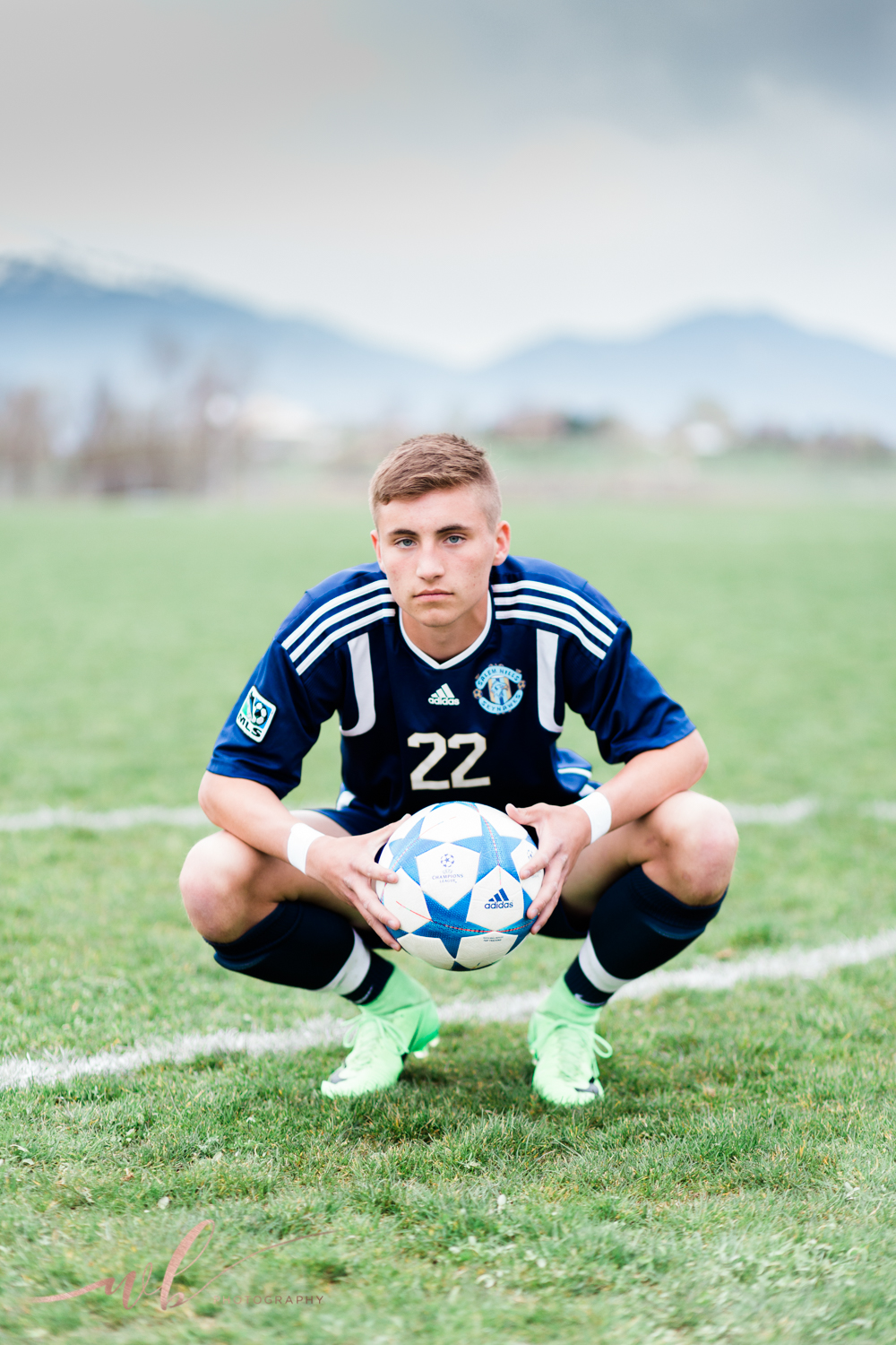 Utah soccer senior pictures