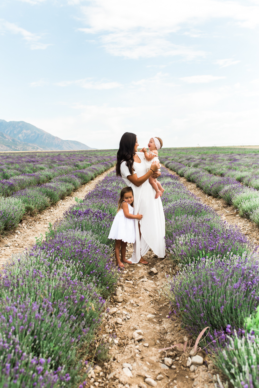 Mommy and me lavender field photos
