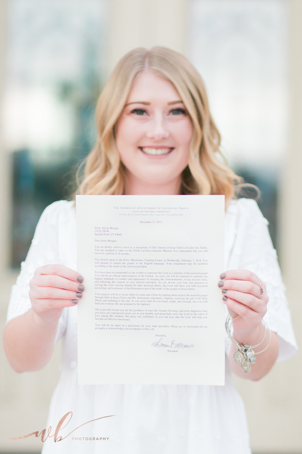 LDS mission call photos