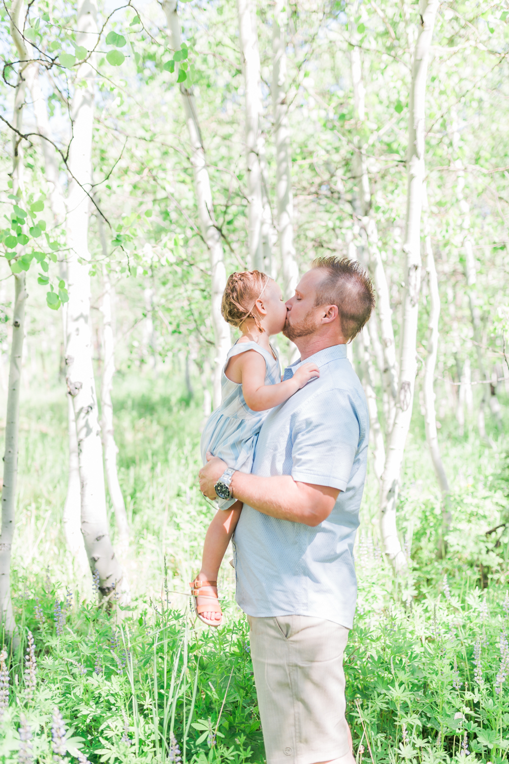 Utah daddy daughter photographer
