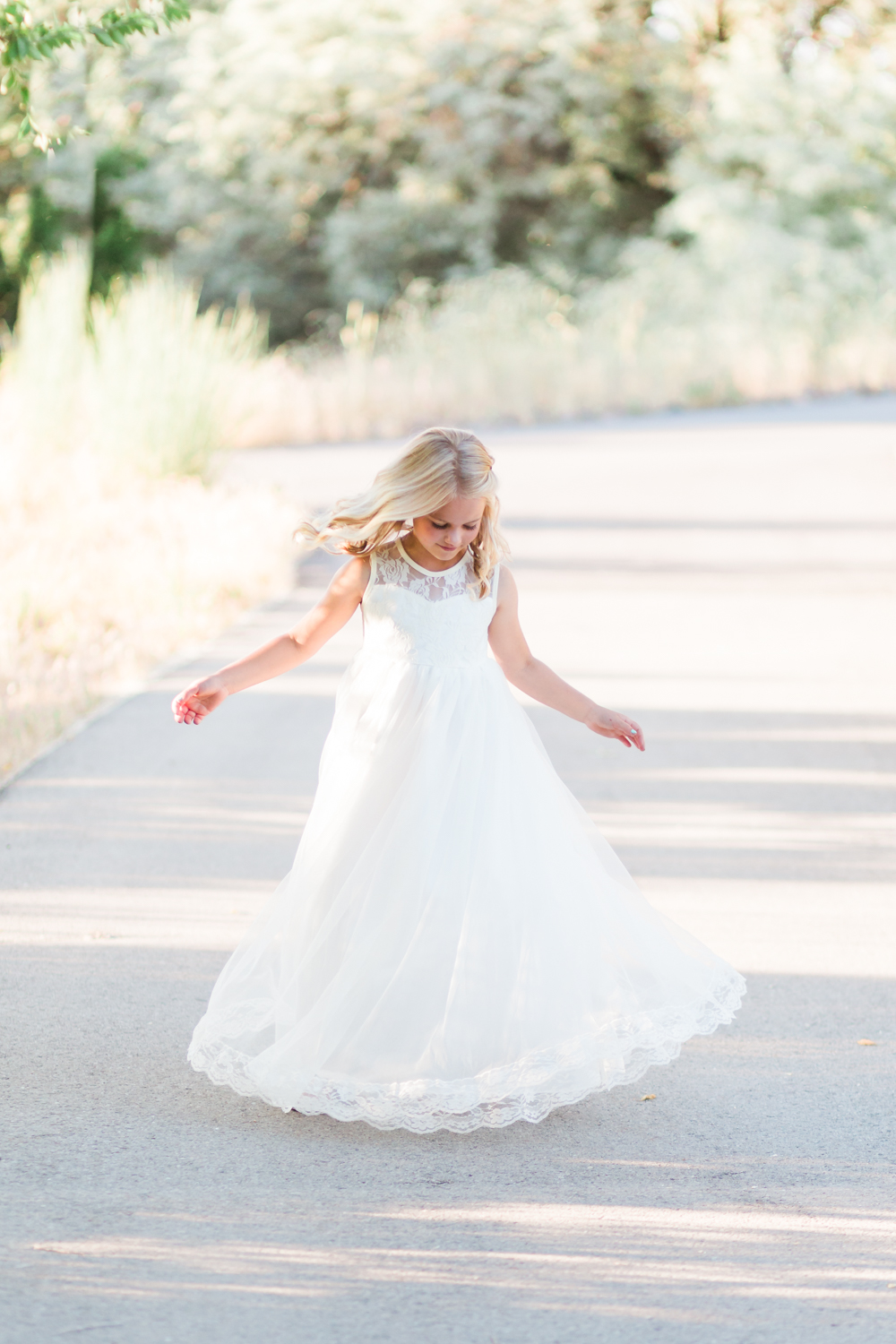 LDS baptism dress