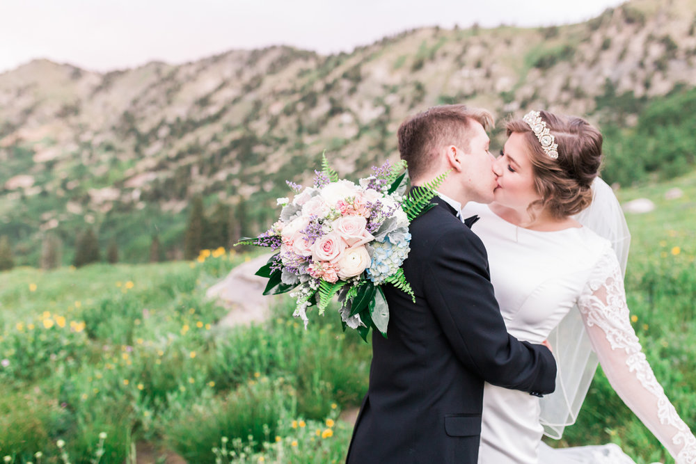 Utah wedding bouquet