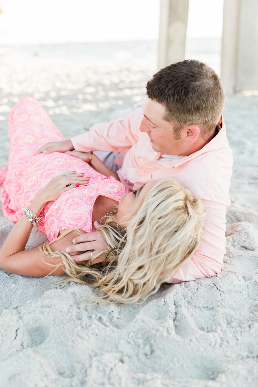 Florida maternity beach session