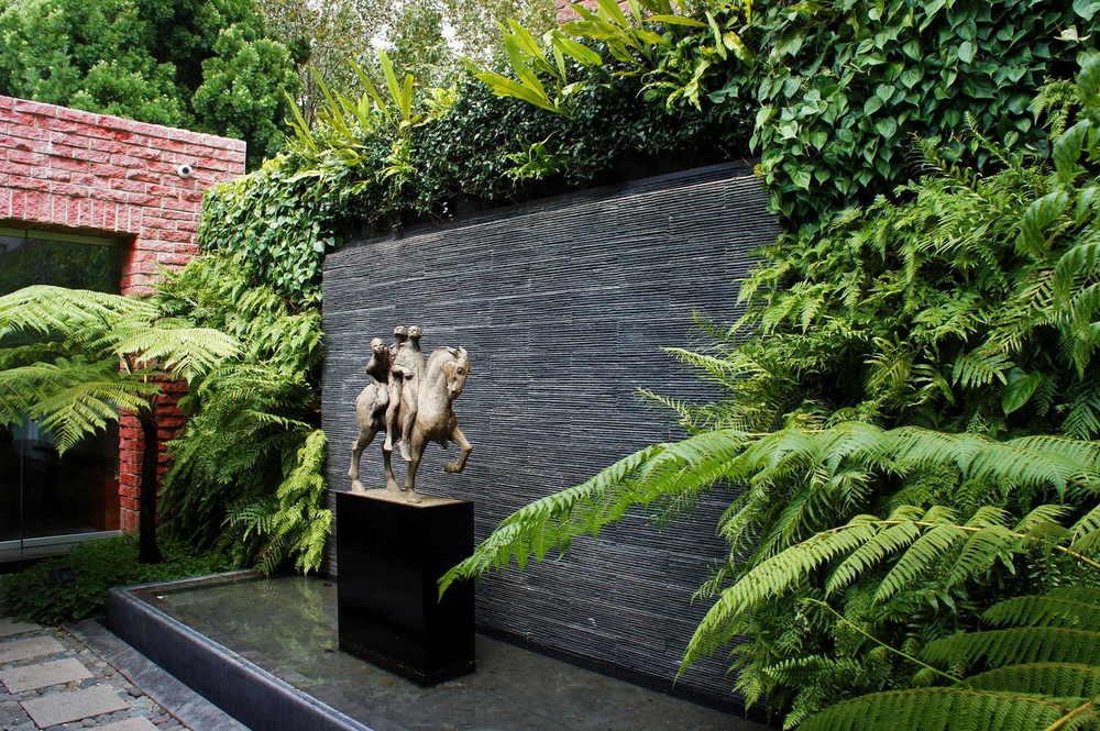 Proyectos residenciales recursos verdes jardines - Como hacer un muro verde ...