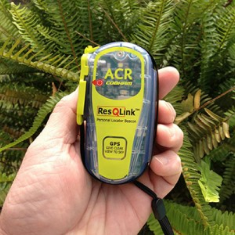 The ACR ResQLink+ Personal Locator Beacon is for true emergencies only. When the storm is more than you can handle.