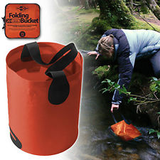 The Folding Bucket by Sea to Summit will enable you to gather larger amounts of water, forage, or bail out your raft. Use with your Lifestraw and save your back.