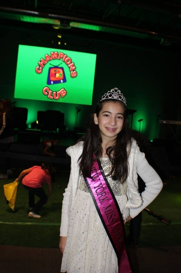 Kristina Paravalos stepping out in her Miss Amazing gear at the Christ Tabernacle Easter Eggstravaganza! She had a great time greeting the kids, participating in the egg hunt, as well as enjoying a bounce house, prizes and endless popcorn!