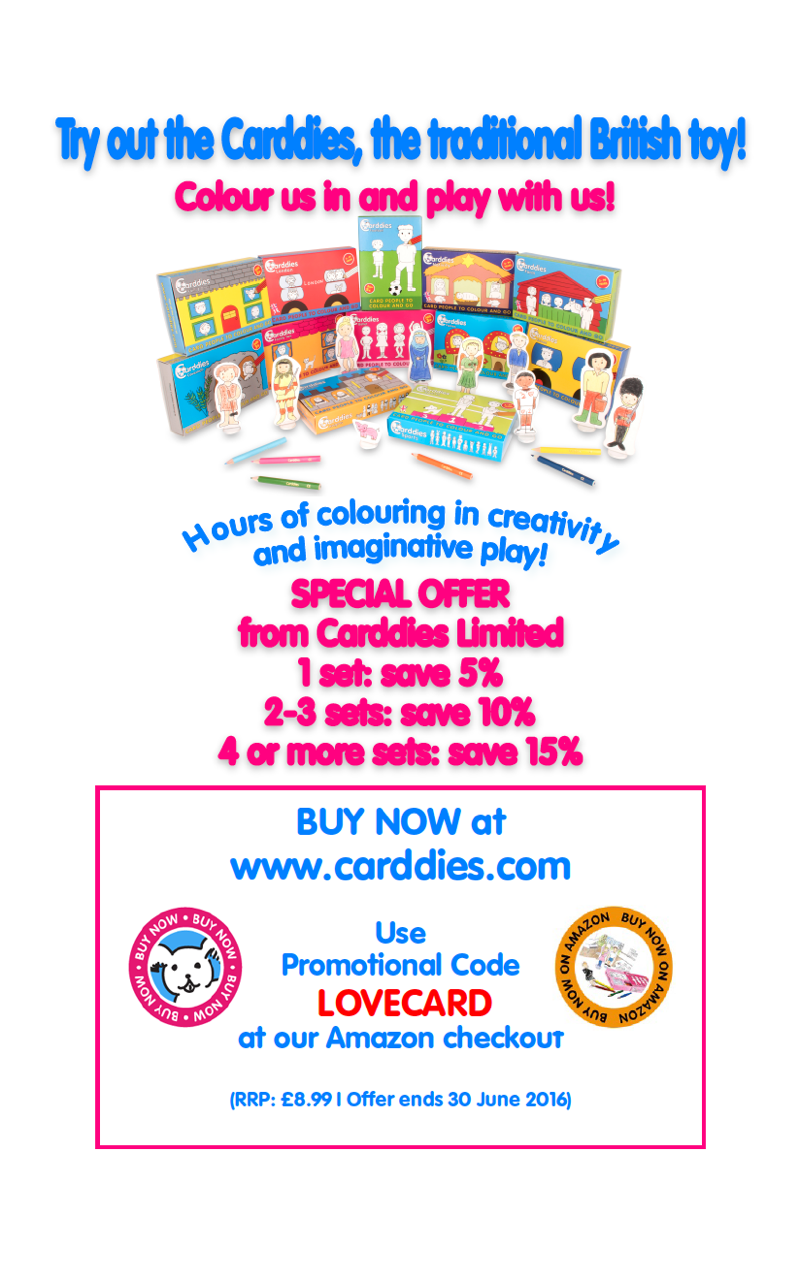 You can visit / follow Carddies on twitter | Facebook