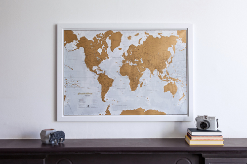 Is your dad the best in the world? Maps International showcases a selection of personalised wall map gifts, perfect for Father's Day on June 19th