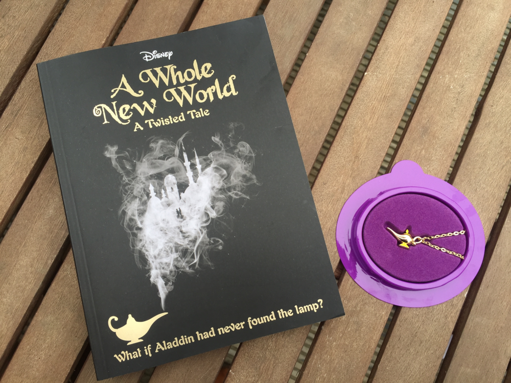 I was super excited to review this book. It's a new take on the famous story, Aladdin; it's a twisted fairytale and with this book you get just that!