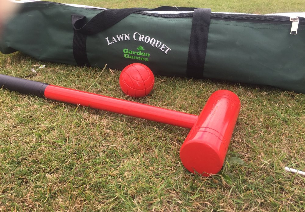 I love introducing new games to the children, especially games that can be played outdoors. And, Lawn Croquet is a classic and traditional game, one that the kids haven't played before. So I was super excited when were sent  Garden Games Lawn Croquet set  to review.    Lawn Croquet is a simple but fun game.