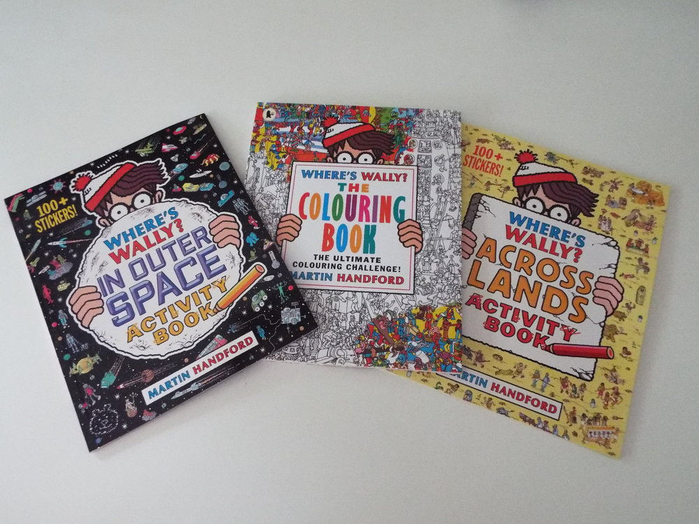 Where's Wally has been enjoyed and loved by Adults and Children since the 80s. And, I've been buying Where's Wally books for my boys over the past decade but never seen an activity one until now.