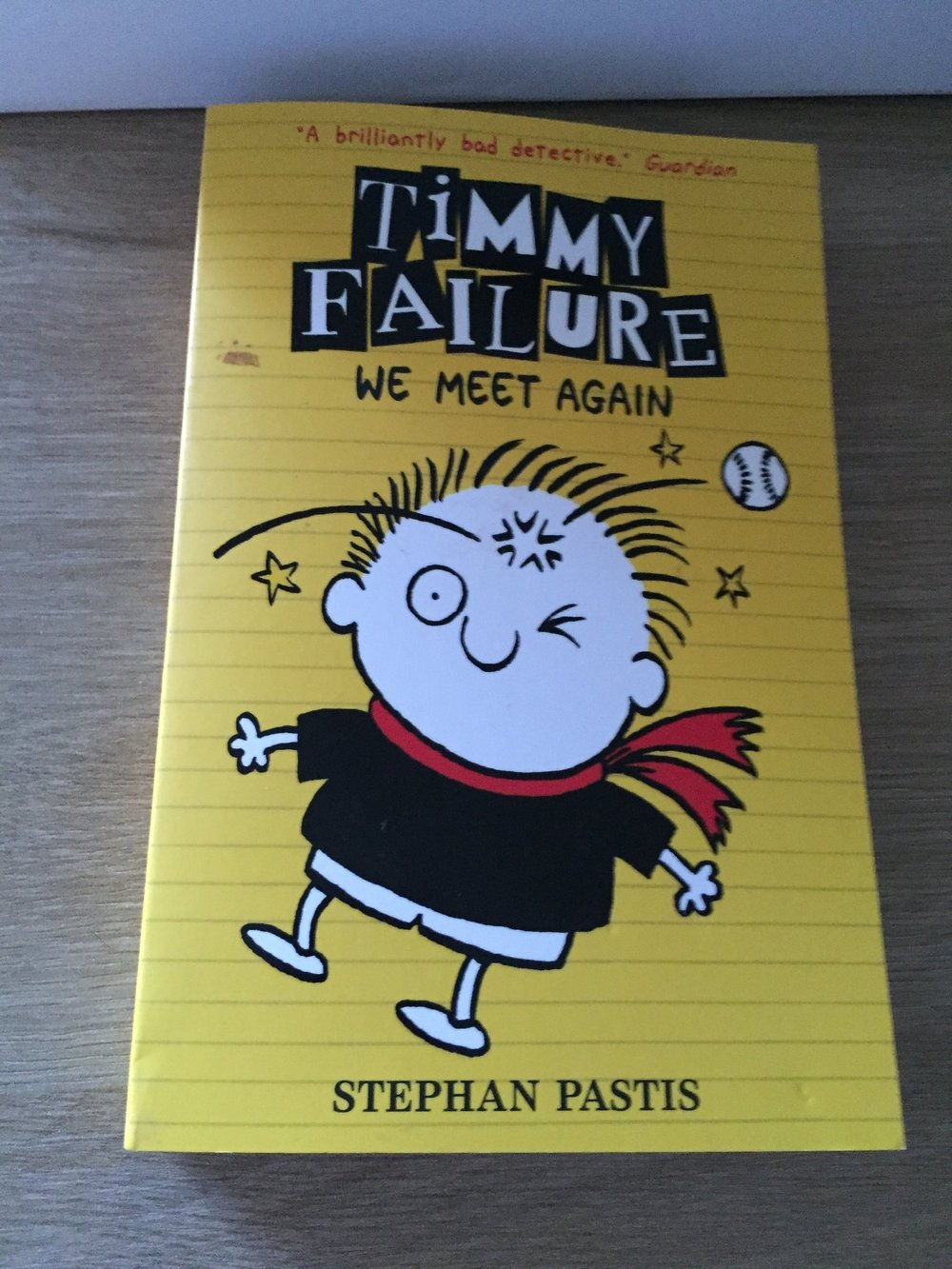 Timmy Failure is a boy detective who lives with his mum. He was expelled from school but is allowed to return on a probationary basis. At school, one of the students hires him to find the Miracle Report. Timmy's quest takes him on a journey and through the story you follow him on his crazy adventure.