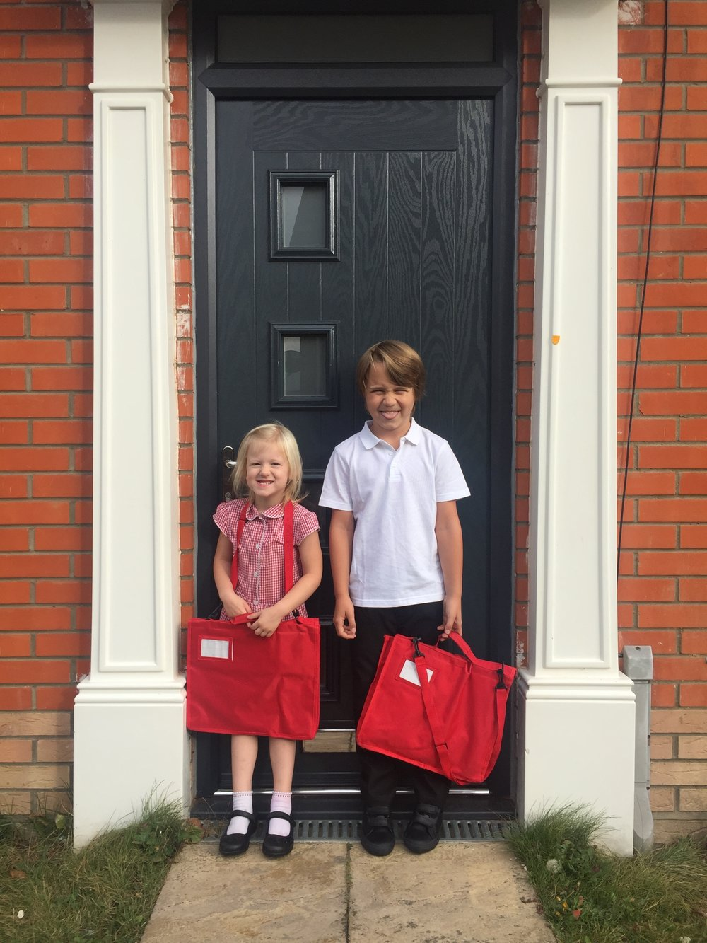 After a super school holiday (we squeezed loads of fun stuff in), with some bumps and bruises along the way, the kids are back into school and so far so good they seem settled and content.