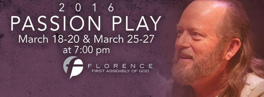 2016 Passion Play — Florence First