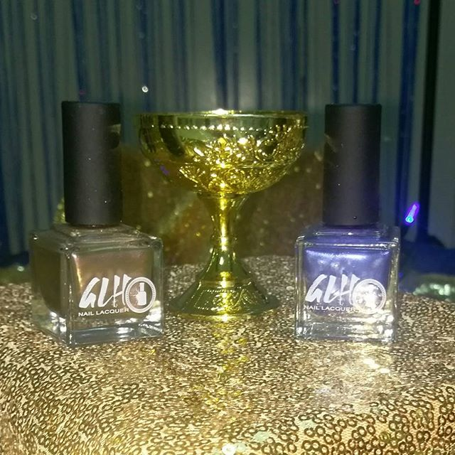We loved being featured at a Royalty Baby Shower! King Isaac and Queen Liz at their best! #royalty #veganlacquer #vegan #5free #nailswag #nails #nailporn #naillacquer
