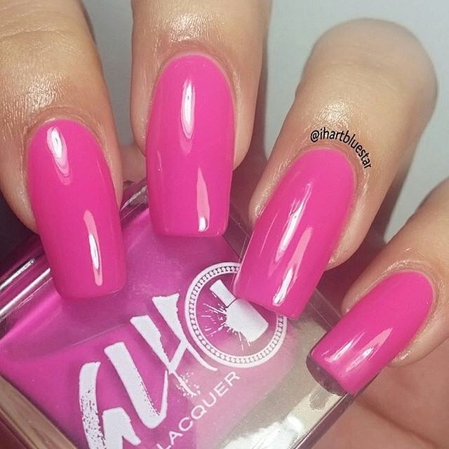 We love this girlie color Tutu Pink! #glhnaillacquer #vegan #polish #veganlacquer #nailporn #nailpolishaddict #nailartist #nailswag #ilovenails #nailbloggers