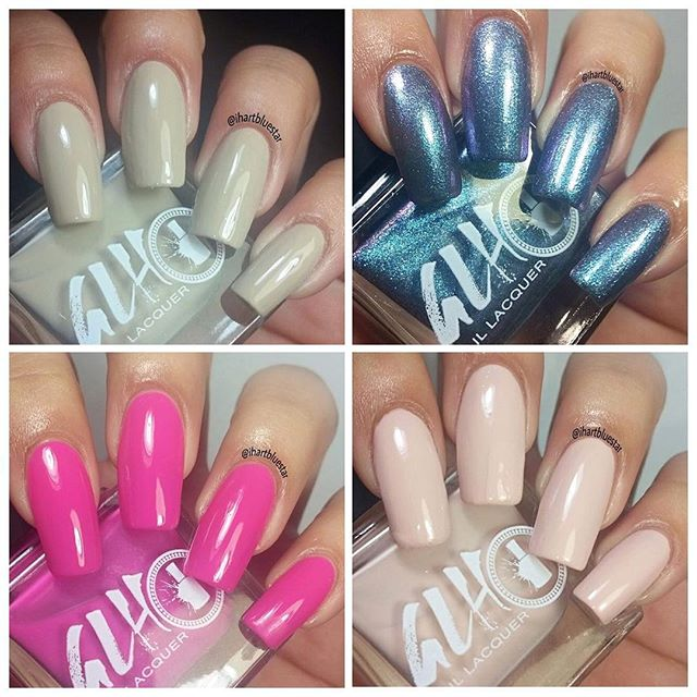 Shop our five-free nail lacquer today! We ship worldwide . . . . www.glhbeauty.com  #glhnaillacquer #nailtech #vegan #fivefree #nailpolishaddict #nailpolish #supportsmallbusiness #shipworldwide #veganpolish