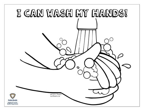 Hand Washing Coloring Pagedocx Page 001