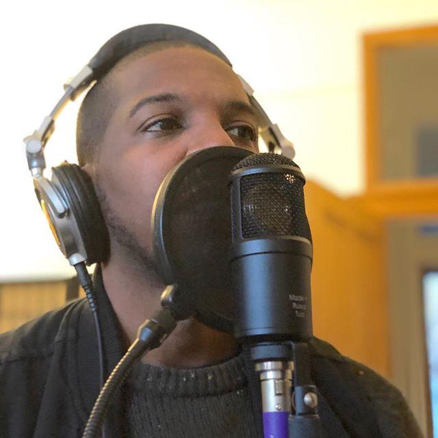 Mohyrule on the mic #london #music #studio #samplereplays