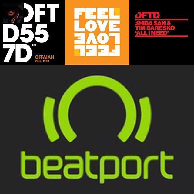 Good morning 2019: three records in the Beatport Top 30 for Sample Replays Ltd. @offaiah @kevinmckay @shibasanmusic @timbaresko @defectedrecords @glasgowunderground @beatport #london #music #studio #logicprox #samplereplays